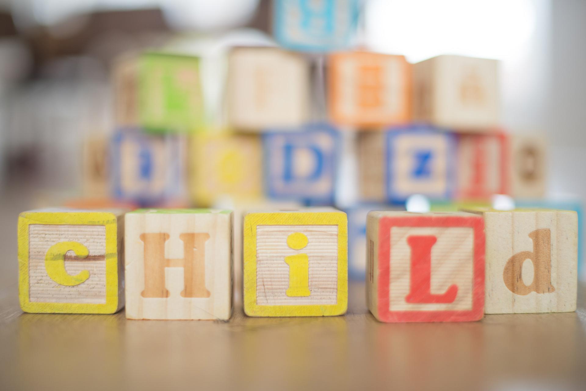Child text blocks